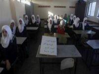 9 Bin 600 Gazzeli Öğrenci Okula Gecikmeli Başladı