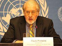 Pinheiro: Sivillerin Ölümünden Suriye Hükümeti Sorumludur