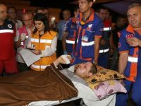 Filistinli 17 Yaralı Türkiye'ye Getirildi