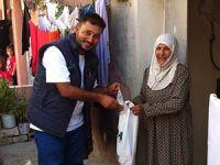 Özgür-Der Kurbanları Suriye'de Dağıtıldı