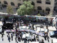 """Yemen'de """"Husi Karşıtı"""" Gösteriler"""
