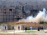 Kobani Tiyatrosuna ÖSO Dekoru