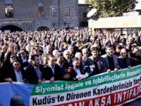 Diyarbakır'da 72 Kurum İşgalci İsrail'i Lanetledi!