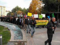 Elazığ'da Siyonist Saldırganlık Protesto Edildi