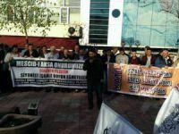 Ereğli'de Siyonist İsrail'in Saldırıları Protesto Edildi