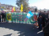 Siyonistlerin Kudüs'e Yönelik Saldırılarına Sivas'tan Protesto