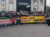 Bartın'da Siyonistlerin Kudüs'e Yönelik Saldırılarına Protesto!