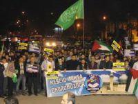 Mescidi Aksa Baskını Adana'da Protesto Edildi