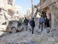Esed Güçleri Gün Boyu Halep'i Bombaladı