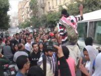 Mısır'da Darbecileri Protesto Ediyorlar
