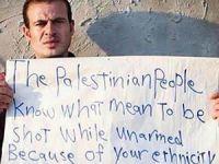 Ferguson'daki Olaylar, Filistin ve Siyonist Anlatı