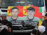 Ölen PKKliler Cizre'de Toprağa Verildi
