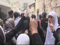 Tekbir Getiren Filistinli Kadınlara Gözaltı