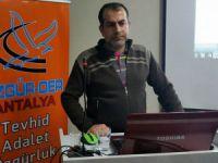 Antalya'da 'Müslümanlar ve Eleştiri Kültürü' Semineri