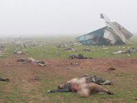 Nusra, Düşürdüğü Uçağın Görüntülerini Yayınladı