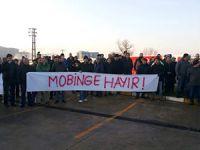 Unilever İşçileri Mobbing Eylemi Yaptı