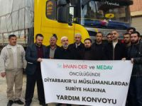 Diyarbakırlı Müslümanlardan Suriye Halkına Yardım