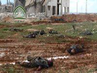 Halep Rejim ve Hizbullah Cesetlerinden Geçilmiyor! (VİDEO)
