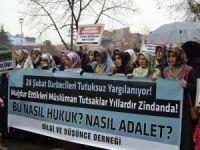 """Bingöl'de """"Müslüman Tutsaklara Özgürlük"""" Eylemi"""