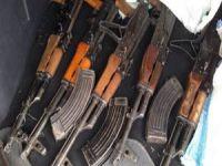Hatay'da Silah ve Mühimmat Ele Geçirildi