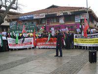 Bursa'da Suriye İntifadası Selamlandı
