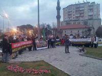 Isparta'da Suriye Direnişi Selamlandı
