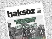 Haksöz Dergisi Nisan 2015 Sayısı Çıktı
