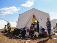 """Esed'in Saldırılarından Kaçanların Son Durağı """"Atme"""" (FOTO)"""