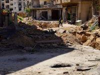Halep'te Sahra Hastanesine Vakum Bombalı Saldırı