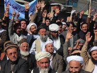 Afganistan'da İran Karşıtı Gösteri