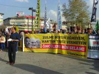 Mısır Cuntasının Yargı Kararları Sivas'ta Protesto Edildi.