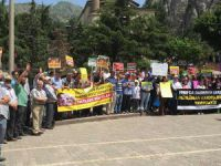Sisi Yargısının İdam Kararları Amasya'da Protesto Edildi