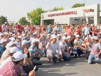 Otomotiv İşçilerinin Eylemi Devam Ediyor