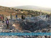 ABD Esed'in Yardımına Koştu, İdlib'e Hava Saldırısı: 17 Şehit