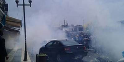 Diyarbakır Polisinden Sisi Protestosuna Gazlı Müdahale