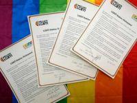 HDP Ve CHP'den 30 Aday LGBTİ Sözleşmesini İmzaladı
