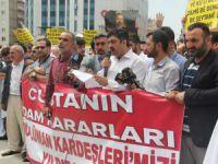 Diyarbakırlar Sisi Cuntasını Polisin Engellemelerine Rağmen Protesto Etti