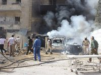 Halep'te 'Varil Bombalı' Saldırı