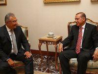 Erdoğan, Deniz Baykal İle Görüştü
