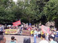 Bursa'da Sisi'nin İdam Kararları Protesto Edildi