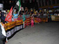 Çorum'da Sisi Cuntasının İdam Kararları Protesto Edildi