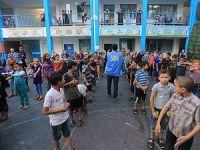 UNRWA Gazze'deki Sığınma Merkezlerini Tahliye Etti