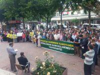 Isparta'da Sisi'nin İdam Kararları Protesto Edildi