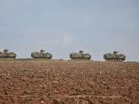 Suriye Sınırına Askerî Sevkiyat
