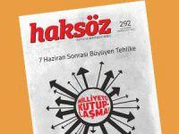 Haksöz Dergisinin Temmuz 2015 Sayısı Çıktı