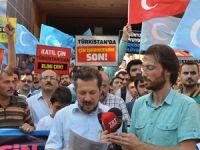 Maraş'ta Çin'in Doğu Türkistan Zulmü Protesto Edildi