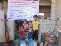 Özgür-Der'in Gazze'de Kumanya Dağıtımı Devam Ediyor