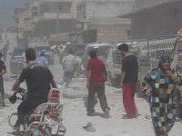 Halep'te Klor Gazlı Saldırı