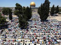 Cuma Namazında Kudüs Sokakları Hıncahınç Doldu