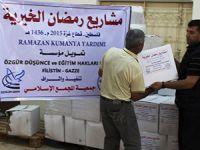 Özgür-Der'in Gazze'deki Kumanya Dağıtımı Tamamlandı